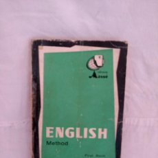 Libros antiguos: ENGLISH METOD. (MASSE). Lote 162305534