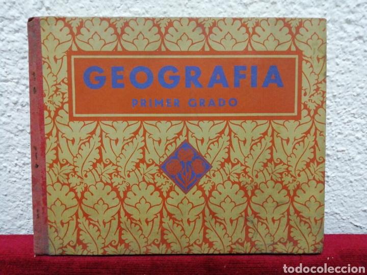 GEOGRAFÍA PRIMER GRADO. EDELVIVES. EDITORIAL LUÍS VIVES. BARCELONA 1935 (Libros Antiguos, Raros y Curiosos - Libros de Texto y Escuela)