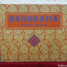 Libros antiguos: GEOGRAFÍA PRIMER GRADO. EDELVIVES. EDITORIAL LUÍS VIVES. BARCELONA 1935. Lote 162917496