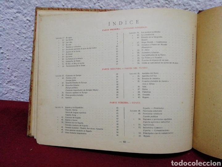 Libros antiguos: geografía primer grado. Edelvives. Editorial Luís Vives. Barcelona 1935 - Foto 5 - 162917496