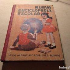 Livros antigos: NUEVA ENCICLOPEDIA ESCOLAR SANTIAGO RODRIGUEZ 1953. Lote 165693706