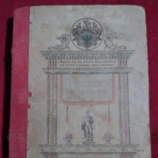 Libros antiguos: NOVISIMO JUANITO EDUCACION JUVENTUD BIBLIOTECA DE LOS NIÑOS MAPA ESPAÑA JATIVA 1883 DE BLAS BELLVER. Lote 165837978