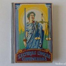 Libros antiguos: LIBRERIA GHOTICA. FRANGANILLO. LECTURAS CÍVICAS COMENTADAS. DALMAU CARLES PLA 1936.ILUSTRADO.. Lote 166683242