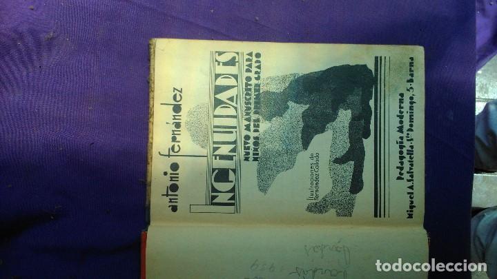 Libros antiguos: INGENUIDADES de editorial Salvatella inmediata postguerra española por sólo doce euros. - Foto 3 - 167324648
