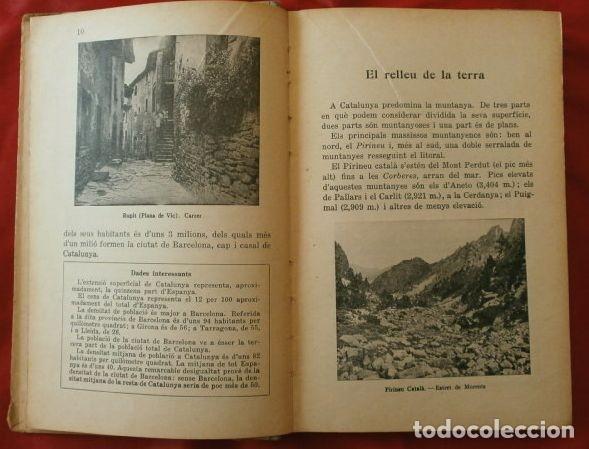 Libros antiguos: LA TERRA CATALANA (1935) JOAQUIM PLA - MÈTODE DE LECTURA CATALANA (En Català) METODO LECTURA CATALAN - Foto 2 - 167833656