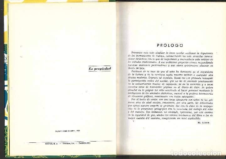 Libros antiguos: LIBRO HACES DE LUZ COMPENDIO DE ACTIVIDADES ESCOLARES - Foto 3 - 38995452