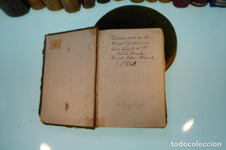 Libros antiguos: Curso elemental de Historia. Don Joaquín Federico de Rivera. 3 tomo en 1 volumen. 1856. Valladolid. - Foto 3 - 169033904