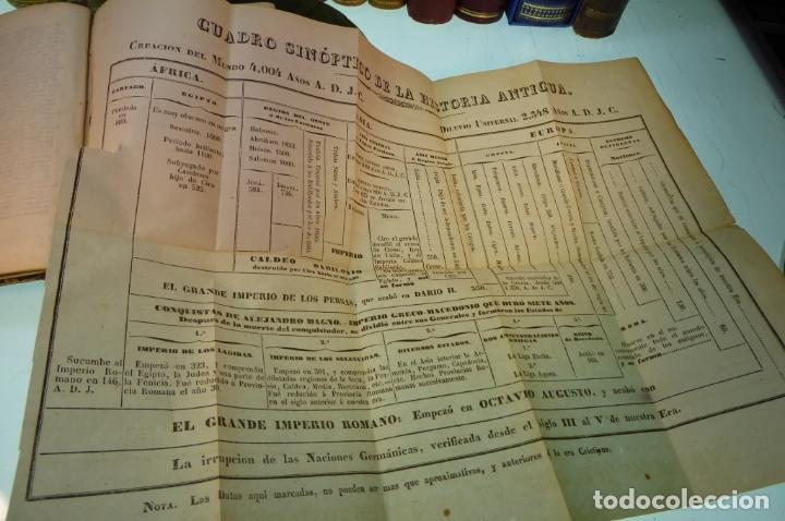 Libros antiguos: Curso elemental de Historia. Don Joaquín Federico de Rivera. 3 tomo en 1 volumen. 1856. Valladolid. - Foto 5 - 169033904