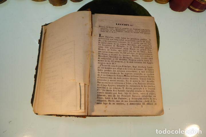 Libros antiguos: Curso elemental de Historia. Don Joaquín Federico de Rivera. 3 tomo en 1 volumen. 1856. Valladolid. - Foto 6 - 169033904