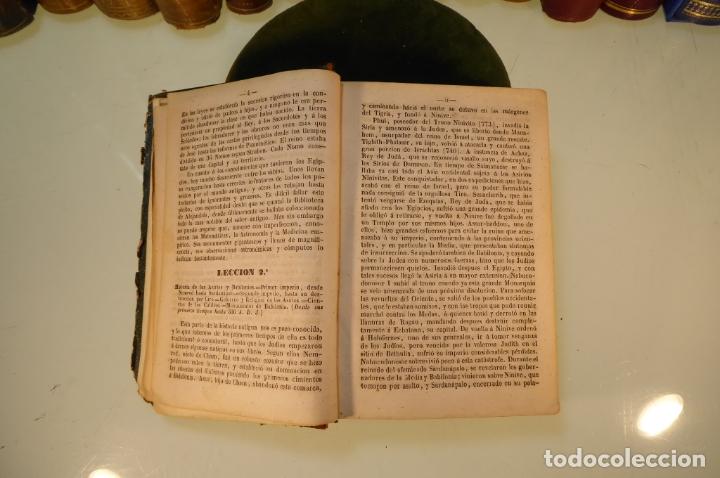 Libros antiguos: Curso elemental de Historia. Don Joaquín Federico de Rivera. 3 tomo en 1 volumen. 1856. Valladolid. - Foto 7 - 169033904