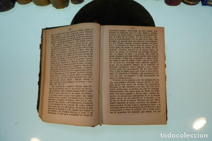 Libros antiguos: Curso elemental de Historia. Don Joaquín Federico de Rivera. 3 tomo en 1 volumen. 1856. Valladolid. - Foto 8 - 169033904