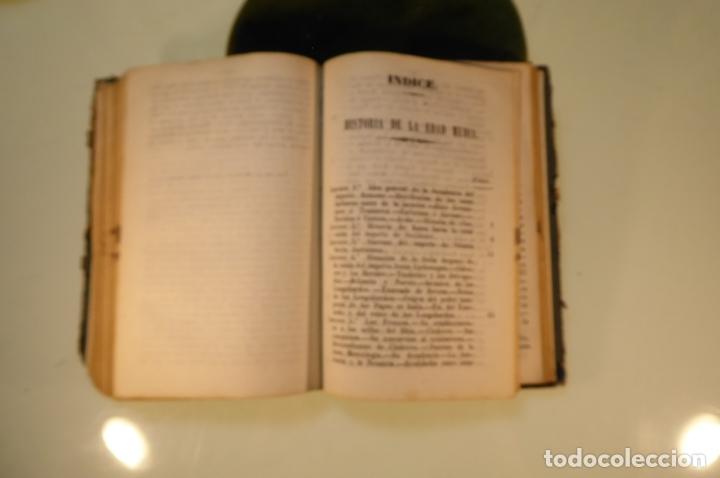Libros antiguos: Curso elemental de Historia. Don Joaquín Federico de Rivera. 3 tomo en 1 volumen. 1856. Valladolid. - Foto 11 - 169033904