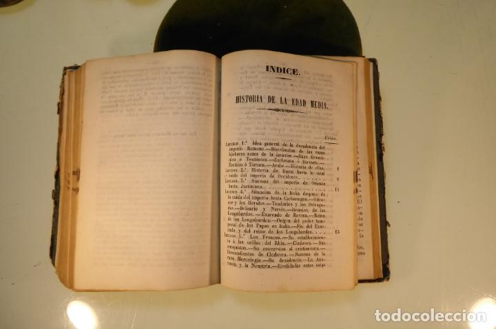 Libros antiguos: Curso elemental de Historia. Don Joaquín Federico de Rivera. 3 tomo en 1 volumen. 1856. Valladolid. - Foto 12 - 169033904