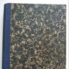 Libros antiguos: CURSO ELEMENTAL DE HISTORIA NATURAL - ZOOLOGIA - ORESTES CENDRERO CURIEL - SANTANDER 1932. Lote 169749892