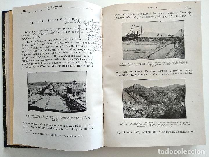 Libros antiguos: CURSO ELEMENTAL DE HISTORIA NATURAL - GEOLOGÍA - ORESTES CENDRERO CURIEL - SANTANDER 1932 - Foto 3 - 169750136
