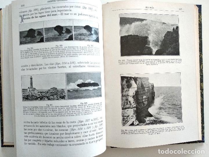 Libros antiguos: CURSO ELEMENTAL DE HISTORIA NATURAL - GEOLOGÍA - ORESTES CENDRERO CURIEL - SANTANDER 1932 - Foto 4 - 169750136