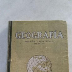 Libros antiguos: GEOGRAFIA ESPAÑA Y PORTUGAL - LIBRO III - 1936 - 7ª EDICION - SEIX BARRAL HERM. Lote 170239776