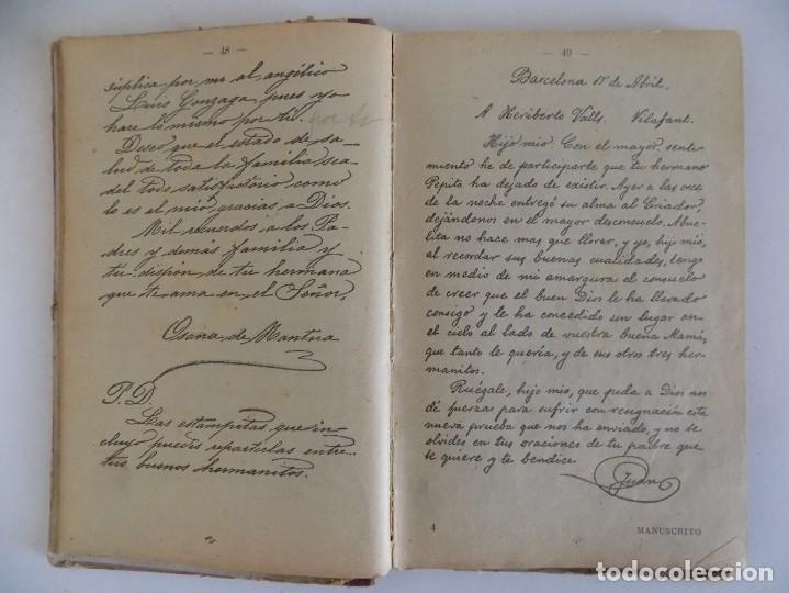 Libros antiguos: LIBRERIA GHOTICA. BORI Y FONTESTA. MANUSCRITO METÓDICO. 1910. CALIGRAFIA. - Foto 2 - 170370540
