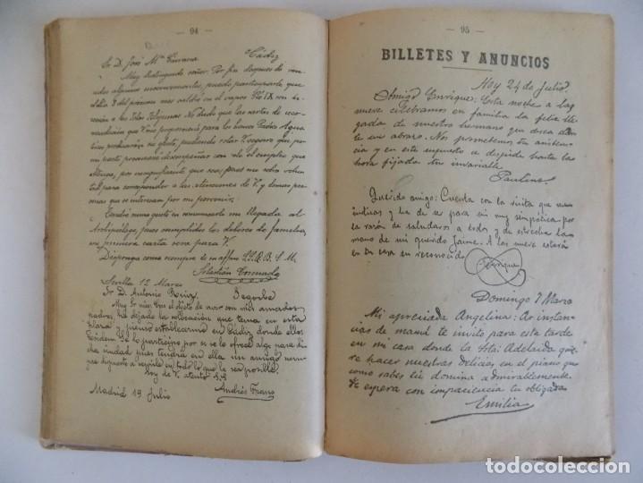 Libros antiguos: LIBRERIA GHOTICA. BORI Y FONTESTA. MANUSCRITO METÓDICO. 1910. CALIGRAFIA. - Foto 3 - 170370540