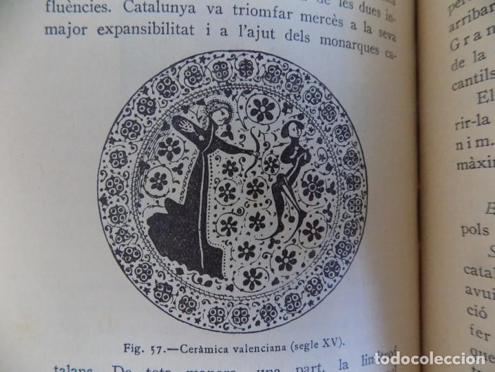 Libros antiguos: LIBRERIA GHOTICA. FERRAN SOLDEVILA. HISTÒRIA DE CATALUNYA. CURS SUPERIOR. 1932.MUY ILUSTRADO. - Foto 3 - 170370776