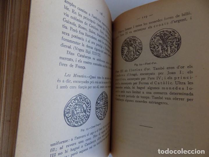 Libros antiguos: LIBRERIA GHOTICA. FERRAN SOLDEVILA. HISTÒRIA DE CATALUNYA. CURS SUPERIOR. 1932.MUY ILUSTRADO. - Foto 4 - 170370776
