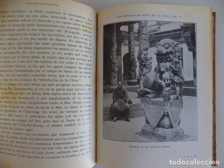 Libros antiguos: LIBRERIA GHOTICA. LECTURAS GEOGRAFICAS. ASIA Y AFRICA. SEIX BARRAL 1934. ILUSTRADO. - Foto 2 - 170371024