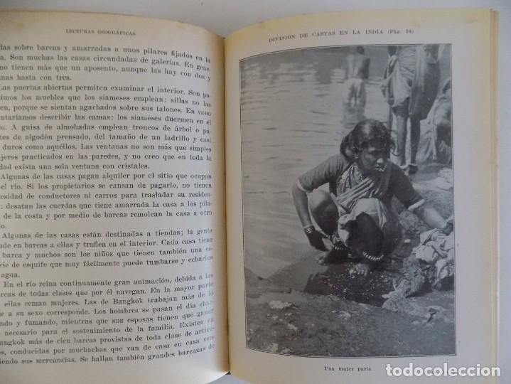 Libros antiguos: LIBRERIA GHOTICA. LECTURAS GEOGRAFICAS. ASIA Y AFRICA. SEIX BARRAL 1934. ILUSTRADO. - Foto 3 - 170371024