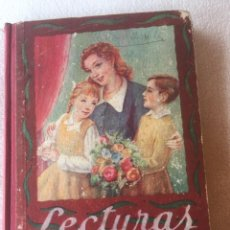 Libros antiguos: LECTURAS LIBRO PRIMERO EDITORIAL LUIS VIVES HUESCA 27 NOVIEMBRE 1950. Lote 170603610