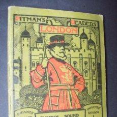 Libros antiguos: CARTILLA INFANTIL INGLESA. 1930. PITMAN'S LONDON READERS : INFANTS' READER. SYMBOL, SOUND AND IDEA. Lote 171134178