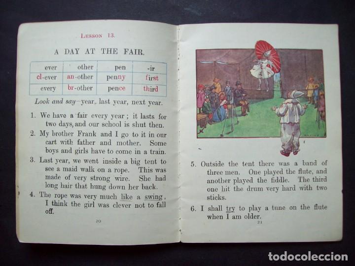 Libros antiguos: CARTILLA INFANTIL INGLESA. 1930. Pitmans London Readers : Infants Reader. Symbol, Sound and Idea - Foto 4 - 171134178