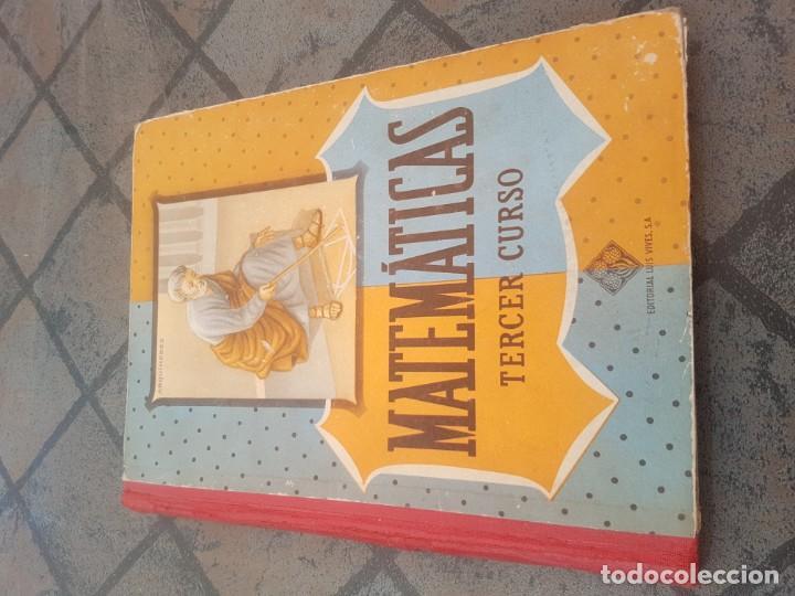 MATEMÁTICAS TERCER CURSO - LUIS VIVES (Libros Antiguos, Raros y Curiosos - Libros de Texto y Escuela)