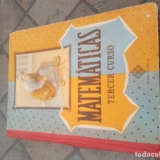 Libros antiguos: MATEMÁTICAS TERCER CURSO - LUIS VIVES. Lote 171316088