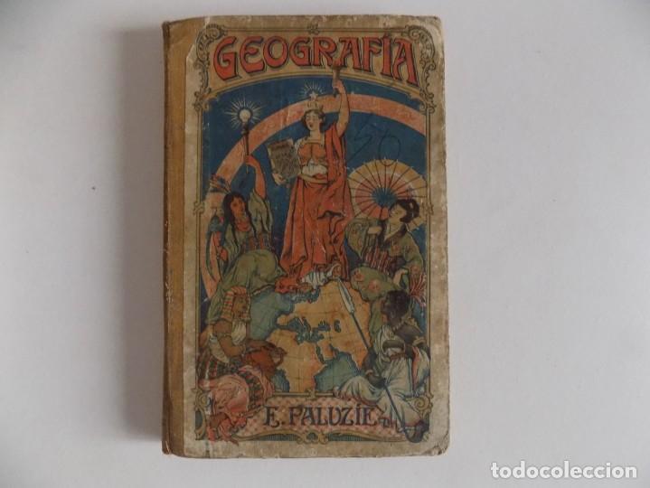 LIBRERIA GHOTICA. E. PALUZIE. GEOGRAFIA PARA NIÑOS. 1925. GRABADOS Y MAPAS. (Libros Antiguos, Raros y Curiosos - Libros de Texto y Escuela)