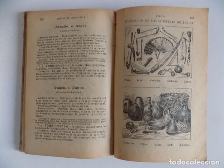 Libros antiguos: LIBRERIA GHOTICA. E. PALUZIE. GEOGRAFIA PARA NIÑOS. 1925. GRABADOS Y MAPAS. - Foto 3 - 171840843