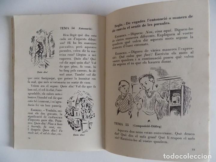 Libros antiguos: LIBRERIA GHOTICA. LLIÇONS DE LLENGUATGE. PRIMER GRAU. PRIMERA PART. EDITORIAL PEDAGOGICA 1931 - Foto 2 - 171840867