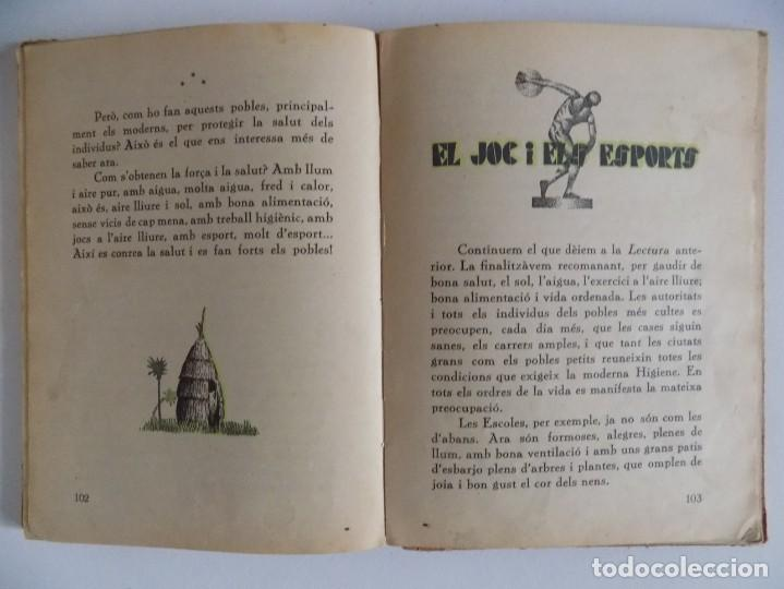 Libros antiguos: LIBRERIA GHOTICA. TORROJA I VALLS. LECTURES SUGESTIVES PER A NOIS I NOIES.1931. ILUSTRADO - Foto 4 - 171841000
