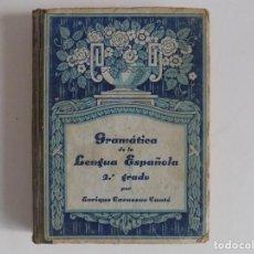 Libros antiguos: LIBRERIA GHOTICA. CASASSAS CANTÓ. GRAMÁTICA DE LA LENGUA ESPAÑOLA. 2O GRADO. 1935. ILUSTRADO.. Lote 171841009