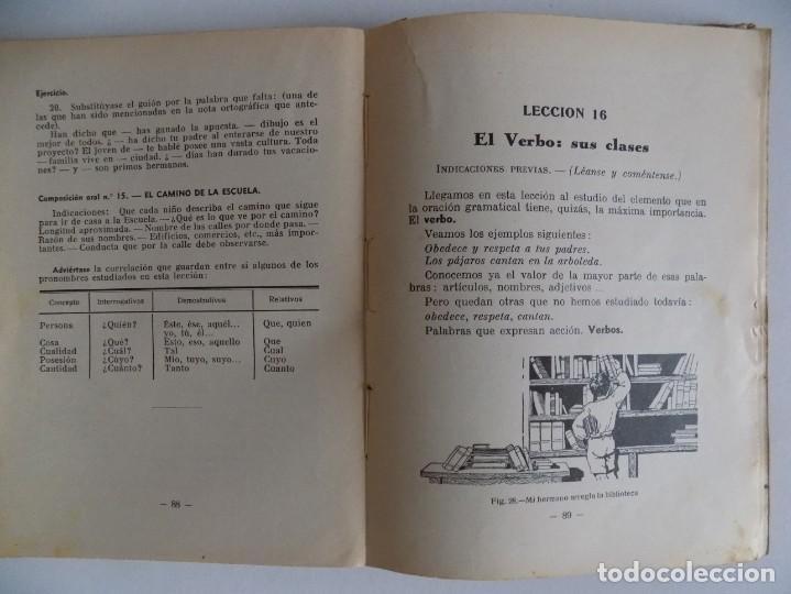 Libros antiguos: LIBRERIA GHOTICA. CASASSAS CANTÓ. GRAMÁTICA DE LA LENGUA ESPAÑOLA. 2o GRADO. 1935. ILUSTRADO. - Foto 2 - 171841009