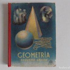 Libros antiguos: LIBRERIA GHOTICA. GEOMETRIA PRÁCTICA Y AGRIMENSURA.SEGUNDO GRADO POR EDELVIVES.1958. ILUSTRADO.. Lote 171841035