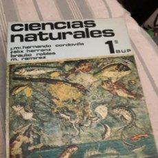 Libros antiguos: CIENCIAS NATURALES 1 BUP. ED. SILOS. 1977. Lote 171963318