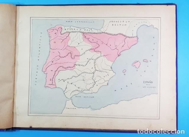 Libros antiguos: CURIOSO CUADERNO ATLAS DE HISTORIA, JAVIER MARTON DEL COLEGIO DE SAN ESTANISLAO 1891,VER DESCRIPCION - Foto 5 - 172232229