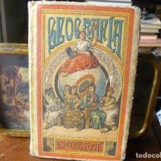 Libros antiguos: 1901 - GEOGRAFÍA PARA NIÑOS. DEMOSTRADA Y ADORNADA CON 46 MAPAS Y 170 VIÑETAS - PALUZÍE . Lote 172776074