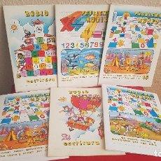 Livres anciens: LOTE 6 CUADERNILLOS RUBIO CUADERNO CARTILLA PRE ESCOLAR 1984 15-13-10-6-5. Lote 172844554