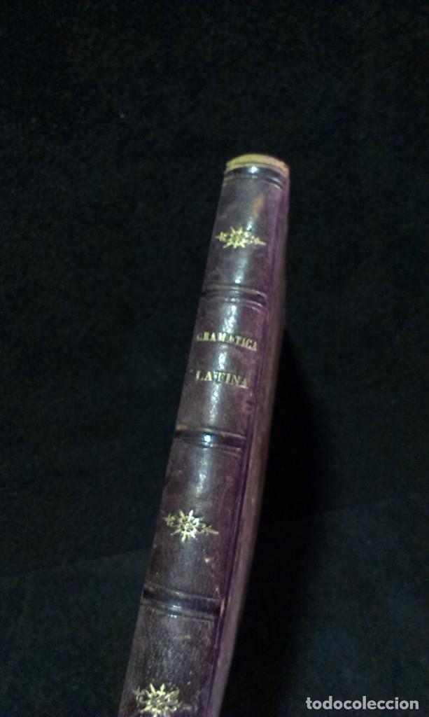 Libros antiguos: GRAMÁTICA HISPANO-LATINA TEORICO PRACTICA - RAIMUNDO DE MIGUEL - AGUSTIN JUBERA, AÑO 1875 - Foto 2 - 172907310