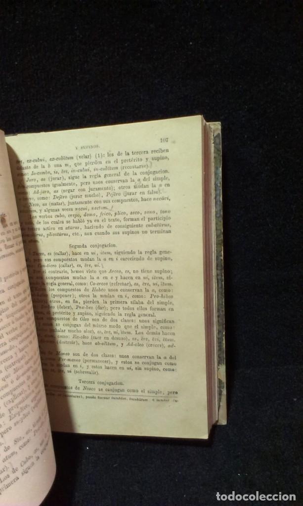 Libros antiguos: GRAMÁTICA HISPANO-LATINA TEORICO PRACTICA - RAIMUNDO DE MIGUEL - AGUSTIN JUBERA, AÑO 1875 - Foto 4 - 172907310