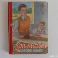 Libros antiguos: LIBRERIA GHOTICA. EDELVIVES. GRAMÁTICA ESPAÑOLA SEGUNDO GRADO. 1958. MUY ILUSTRADO.. Lote 172928542
