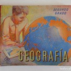 Libros antiguos: LIBRERIA GHOTICA. LUIS VIVES. GEOGRAFIA. SEGUNDO GRADO. 1954. FOLIO. MUY ILUSTRADO.. Lote 172929630