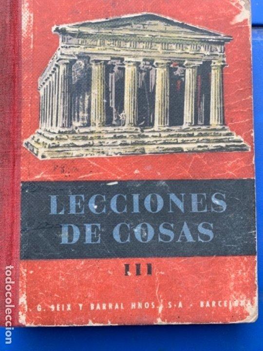LECTURA DE COSAS (Libros Antiguos, Raros y Curiosos - Libros de Texto y Escuela)