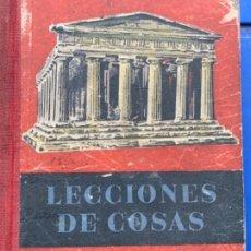 Libros antiguos: LECTURA DE COSAS . Lote 173052777