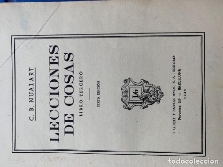 Libros antiguos: Lectura de cosas - Foto 2 - 173052777
